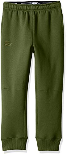 Starter Boys' Jogger Sweatpants with Pockets, Amazon Exclusive, Bronze Green with Embroidered Logo, S -
