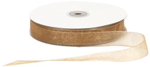 (Offray Berwick LLC 796083 Berwick Simply Sheer Asiana Ribbon - 7/8