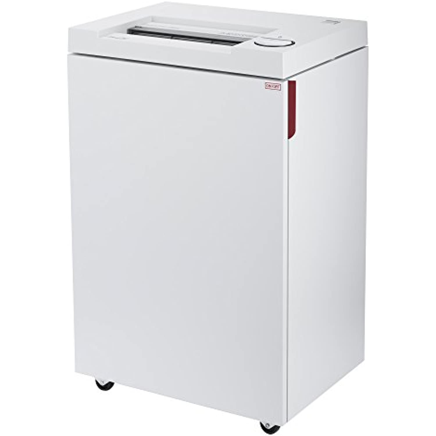 ideal. 2465 Cross-Cut Deskside Paper Shredder, Continuous Operation, 9-11 Sheet, 9 Gal. Bin, Shred Staples/Paper Clips/Credit Cards, 3/4 HP Motor, P-5 Security Level