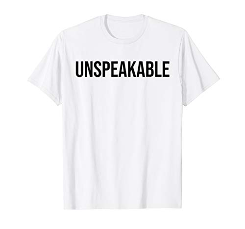 Unspeakable Shirt For Kids Tshirt Merchandise Adults Merch Import It All