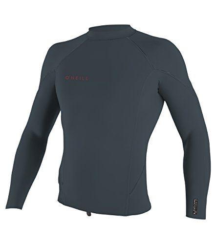 O'Neill Youth Reactor-2 2mm Long Sleeve Top, Slate/Red, 16