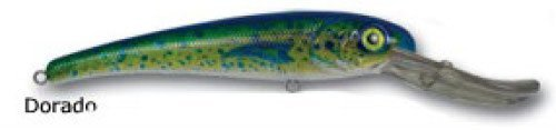 Mann's Bait Company Stretch 30+ Fishing Lure (Pack of 1), 6-Ounces, Dorado (Fishing Lures Dorado)
