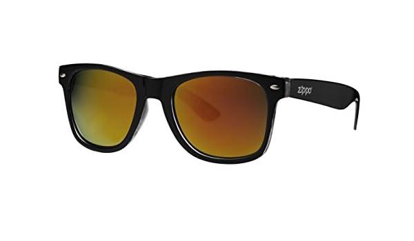 Zippo Multicoating Lens Gafas de Sol, Unisex, Negro, Medium: Amazon.es: Deportes y aire libre