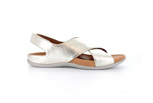 Strive Footwear Damen Sandalen Pale Gold Metallic