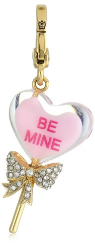 "Juicy Couture ""Spring Delivery 1 Charms"" Limited Edition Heart Lolli Charm"