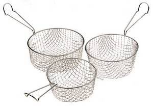 Cesta De Freidora -7.25 Perfecto Para La Fabricación De Chips Caseras