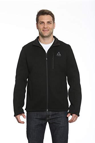 Rib Knit Jacket - Gerry Basecamp Jacket (Black, X-Large)
