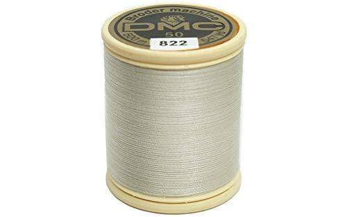 DMC 237A-50822 Cotton Embroidery Thread 50WT 547Yds Light Beige ()