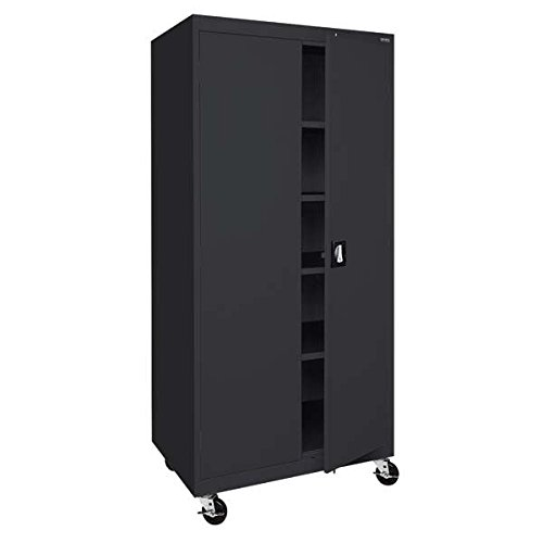 Sandusky Lee TA4R302466-09 Transport Series Mobile Storage Cabinet, - Storage Transport Mobile