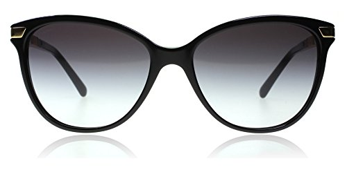 Burberry BE4216 - 30018G Sunglasses BLACK W/ GRAY GRADIENT Lens 57mm from BURBERRY