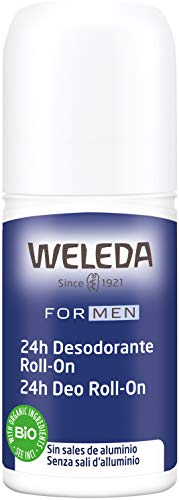Weleda Men's 24 Hour Roll-On Deodorant, Herbal, 1.7 Fluid Ounce