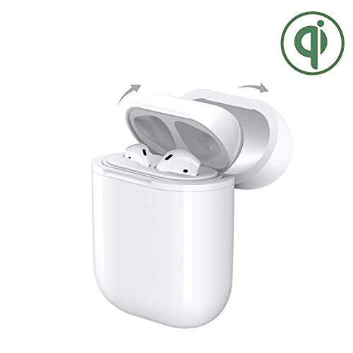 AirPods Case,Digi Marker Wireless Charging Case Protective Cover with Qi Receiver Compatible Apple AirPods(Make Your Airpods Charing Case Support Wireless Charger)