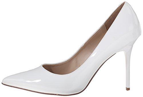 Pleaser Blanco Para Mujer De Zapatos wht 20 Tacón Classique Pat rqHUwr