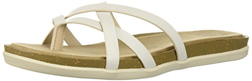 (G.H. Bass & Co. Women's Sharon 2.0 Sandal, White, 110 Medium US )