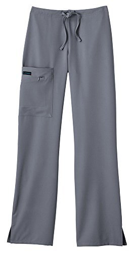 Jockey Women's Scrubs Scrub Pant, Pewter, ST (Best Jeans For Big Bum And Thighs)