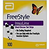 FreeStyle Insulinx Blood Glucose Test Strips by Freestyle