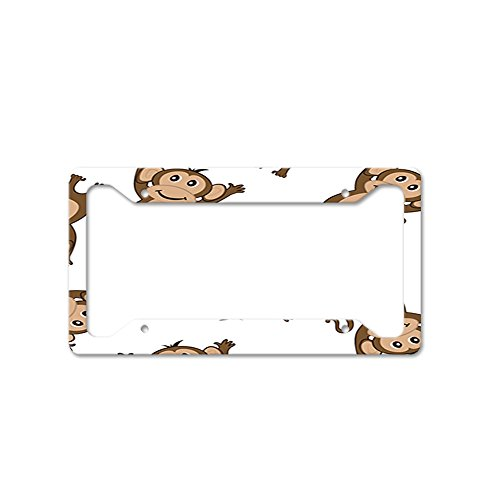 - Style In Print Little Monkeys Auto Car License Plate Frame Tag Holder 4 Hole