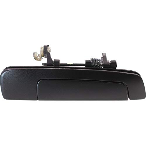 (Exterior Door Handle compatible with Mirage 97-02 Eclipse 00-05 Front Right Outside Textured Black W/O Keyhole)