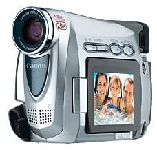 Canon ZR100 MiniDV Camcorder w/20x Optical Zoom (Pearl Silver) (Discontinued by Manufacturer)