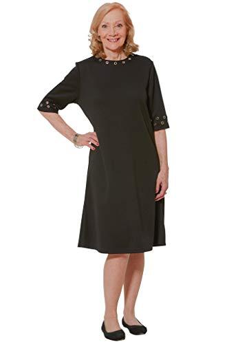 Ovidis Fashionable Dress - Black   Rory   Adaptive Clothing - XL