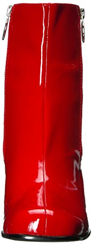 Marc Jacobs Women's Crawford Double Zip Ankle Fashion Boot Red VYxYDbh0