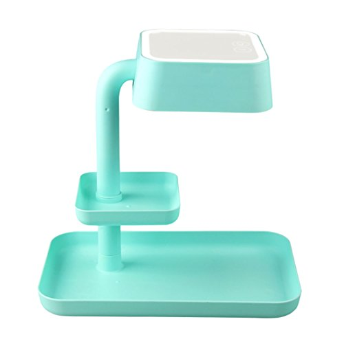 Makeup Mirror Lamp with Table Lamp for Bedroom Home Decor Mint Green by KAINISI