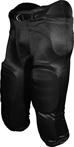 FOOTBALL AMERICA Youth Integrated Football Pant Black Small