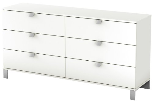 South Shore Collection 6 Drawer Dresser