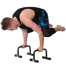 Juperbsky Push Up Stands Bars Parallettes Set for Workout Exercise