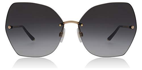Dolce & Gabbana Women's Lucia DG Sunglasses, Pink Gold/Grey Gradient, One Size