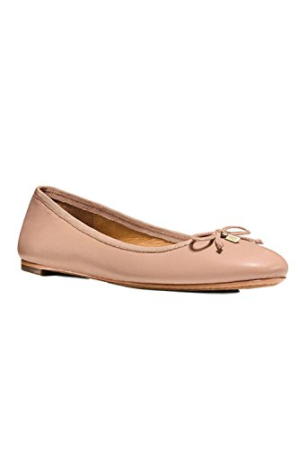 Coach Womens Flatiron Closed Toe Ballet Flats Shell wimYNtendB