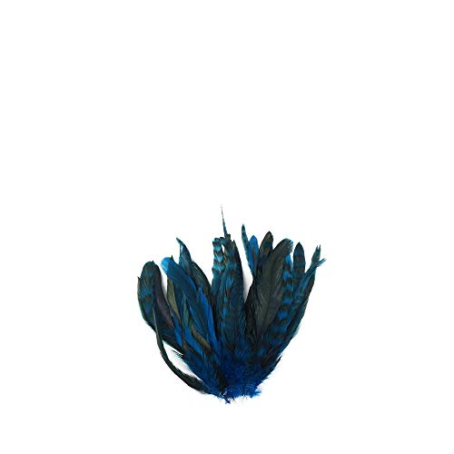 - Zucker Feather Products BCCCL8-10--DKT Chinchilla Rooster Coque Tails