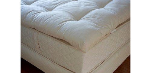 organic cotton mattress topper Amazon.com: Mattress Pads / Toppers Catskill Organic Cotton and  organic cotton mattress topper