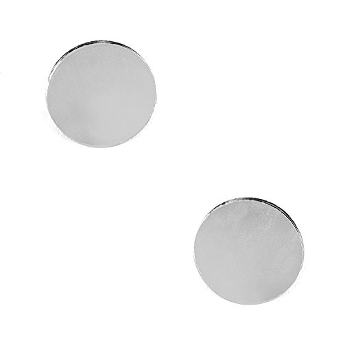 "Mini 1"" Inch Small Round Glass Mirror Circles for Arts & Crafts Projects, Traveling, Framing, Decoration (50 Pieces)"
