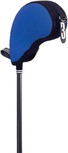 (Stealth Club Covers 17020 Hybrid Pocket Mini ID 3-4-5-X Golf Club Head Cover, Royal/Black)