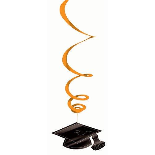 Amscan 679491.05 Hanging Foil Swirl Mega Value Pack Decoration, 7