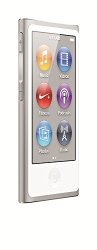 LATEST MODEL Apple Ipod Nano 7th Generation 16 GB Silver With Generic White Earpods and A USB Data Cable (Non Retail Packaged in a Brown Box), Model: MD480LL/CALI, Electronics & Accessories Store