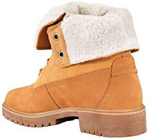 Timberland Teddy Fleece Fold Down Boots Women's