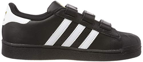 Infantile ftwr White Basso Superstar Adidas core core Black Core Foundation Black A Nero Black Senakers Collo vngvqfxYP