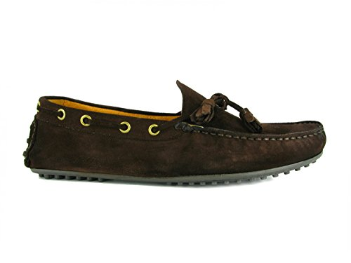 Cardin Marron Marron Mocassin Pierre Cuir PC1605BE 8SxBggqd