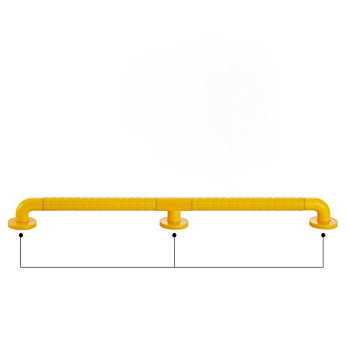 CNBBGJ Bath/toilet safety rails bathtub bathroom anti-slip handle barrier-free handrails to help elderly persons with disabilities,Orange,78cm