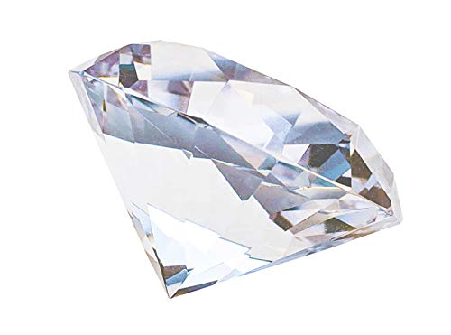 (Glass Diamond Paperweight 3.1