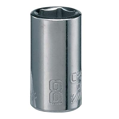 CRAFTSMAN Shallow Socket, Metric, 1/4-Inch Drive, 8mm, 6-Point (CMMT43504): Home Improvement