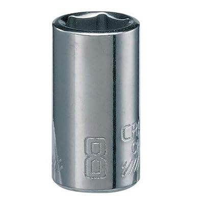 CRAFTSMAN Shallow Socket, Metric, 1/4-Inch Drive, 8mm, 6-Point (CMMT43504): Home Improvement [5Bkhe0803985]