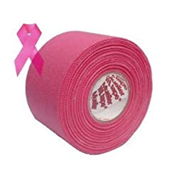 Pink Athletic Tape for Breast Cancer Awareness - 6 Rolls