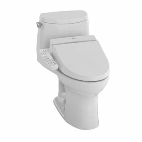 TOTO MW6042034CUFG#01 Ultramax II Connect Plus Toilet, 1....