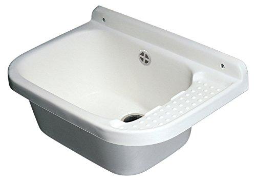 negrari 2060A lavatoio-pilozzo Wall Resin, PP, 50x 34cm