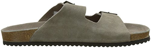 Bio Homme Pepe Gris taupe Jeans Suede Mules nRqwwgOCx4