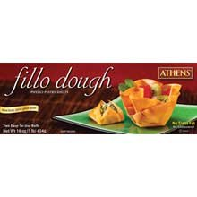 Athens Foods Pastry Fillo Dough Sheet, 16 Ounce - 12 per case.