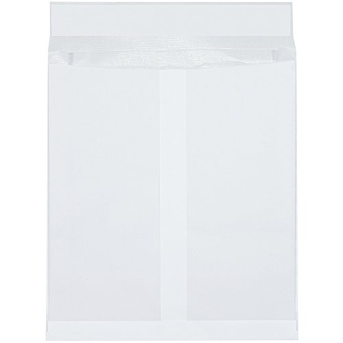 Quality Park SLE12162WE Ship-Lite Reinforced Paper End Opening Expandable Envelope, 16'' Length x 12'' Width x 2'' Height, White (Case of 100) by Ship-Lite